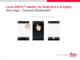 leica disto bluetooth and apps getting started on android