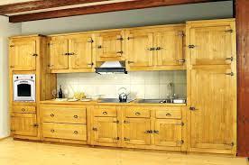 meuble cuisine en pin pas cher meuble cuisine pin buffet de cuisine en pin massif meuble de cuisine