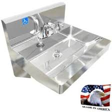 Ada Multistation 2 Users Hand Sink No Lead Electronic Faucet 72 Cheap Garden Sink Station Find Garden Sink Station Deals On Line
