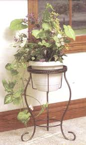 wrought iron plant stands ship design