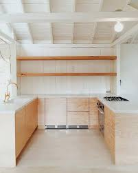douglas fir kitchen cabinets douglas fir kitchen cabinets exposed shelving fir plywood marble
