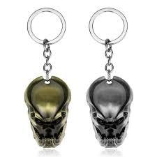 unique key ring predator avp mask pendants key ring unique keychain