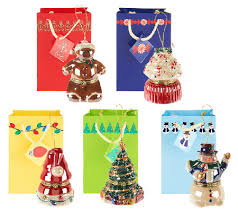 mr set of 5 customer choice porcelain ornaments
