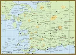 Asia Minor Map Metron Ariston Ptolemy U0027s Geography