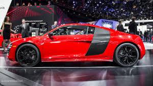 Audi R8 Red - 2013 naias audi r8 facelift live photos autoevolution