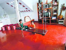 keralahousedesigner com red oxide floor u0027kaviyidal u0027