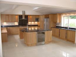 Oak Kitchen Design Wren Living Shaker Light Oak Timber Kitchen Kitchen