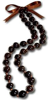 kukui nut treasure 32 brown kukui nut necklace