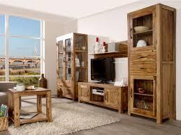 Wohnzimmer Rustikal Wohnwand Rustikal