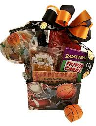 sports gift baskets sports madness basketball gift basket sports gift baskets