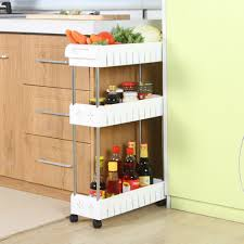 Narrow Pull Out Spice Rack Amazon Com Storage Dynamics Jb6032 Slide Out Storage Tower Food