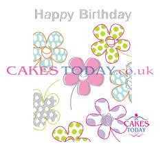 happy birthday simple design happy birthday simple flowers design cd138sfd birthday cakes