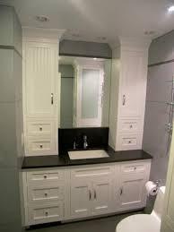 bathroom vanity and linen cabinet combo brilliant bathroom vanity and linen cabinet and hand made bathroom