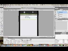 software gui design design mobile user interface using adobe fireworks