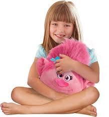 amazon com dreamworks trolls pillow pets poppy official trolls
