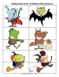 Halloween Cut And Paste Printables by Halloween Worksheets Math Symmetry Tracing Cut And Paste