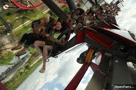 Six Flags In Illinois Tickets Newsparcs X Flight A New Wing Coaster From Bolliger