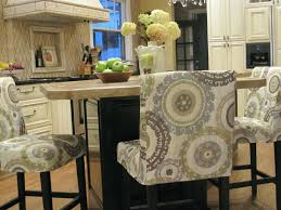 Round Bar Stool Covers Simple Details Barstool Slipcover Reveal