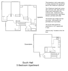 south hall floor plans residential life plu