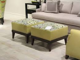 Custom Fabric Ottoman by Upholstered Coffee Table Decorating Brown Sofa Ideas Plus Cushion