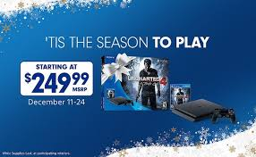 black friday playstation plus sony ps4 consoles now on sale at black friday discount prices in us