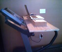 Diy Treadmill Desk by Treadmill Desk Creative Woodworking