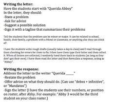 spanish advice dear abby letter by spanishplans tpt