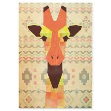 eclectic giraffe ring holder images Buy giraffe art from bed bath beyond