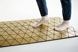 wood floor mats by sitskie design studio retail design