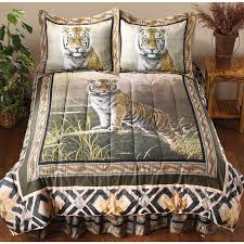 Tiger Comforter Set James Hautman Comforter Set 191480 Comforters At Sportsman U0027s Guide