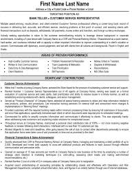 Personal Profile Resume Examples by Bank Resume Resume Cv Cover Letter