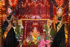 decoration for gauri ganpati at home ash999 info