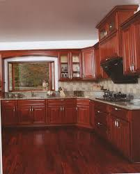 Shaker Cherry Kitchen Cabinets Kitchen Cabinets Cherry Shaker Style Kitchen