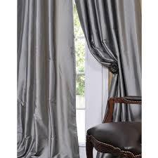 Silk Dupioni Curtains Pottery Barn Dupioni Silk Pole Pocket Drapes Decor Look Alikes