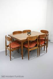 Contemporary Wood Dining Room Sets 25 Best Teak Dining Table Ideas On Pinterest Retro Dining Table