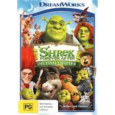shrek final chapter dvd big