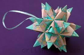 holidays origami tree ornaments origami artis bellus