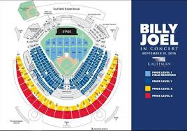 Miller Park Seating Map Billy Joel To Perform At Kauffman Stadium The Kansas City Star