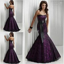 evening wear dresses for weddings best 25 purple and black dress ideas on and black