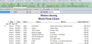 Upholstery Jobs Work Orders In Quickbooks Upholstery Resource