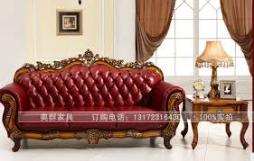 Classic Sectional Sofa Royal Furniture Classic Sectional Sofas With Genuine Leather B660