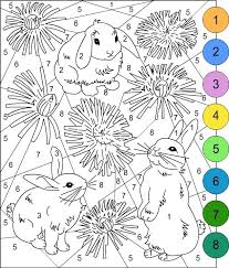 easter coloring pages numbers 35 free printable easter coloring pages