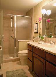 beautiful small bathroom design with glass door shower room and