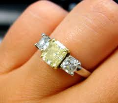 canary engagement rings diamonds canary yellow engagement rings top unhurry two