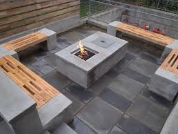 Patio Seating Ideas Concrete Patio Table Ideas Modern Table Design