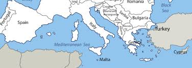 Map Of Mediterranean Sea Mediterranean Luxury Yacht Charters
