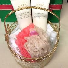 makeup gift baskets 51 aveda other aveda gift basket from s closet on