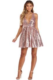 party dresses sale esther gold sequin party dress