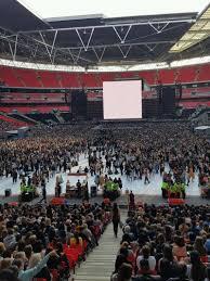 concert photos at wembley stadium