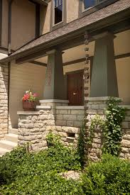 craftsman porch columns with tapered columns exterior craftsman